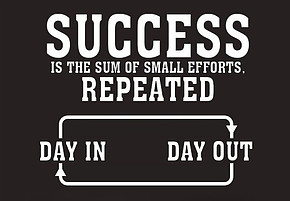 success repeated