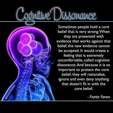 cognitive dissonance meme